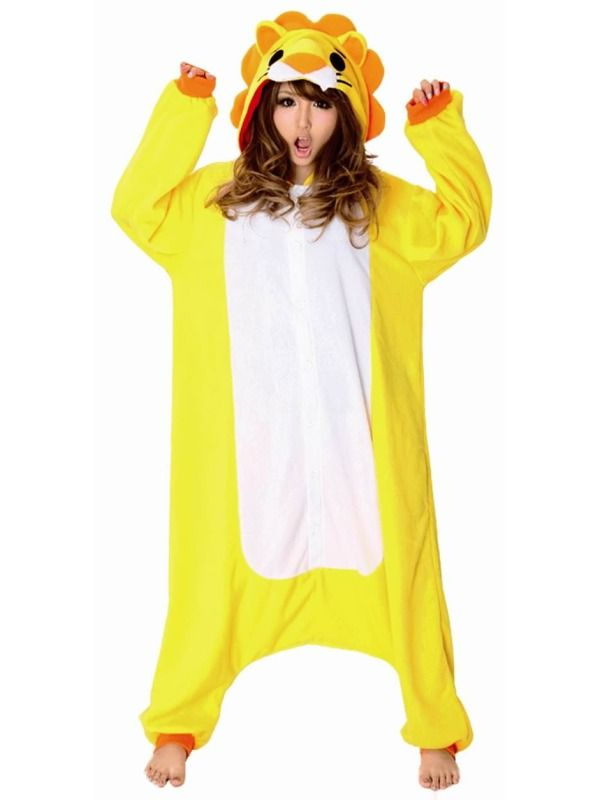 Løve kostume | 100% Lækker blød kvalitet | Dyrekostumer.dk