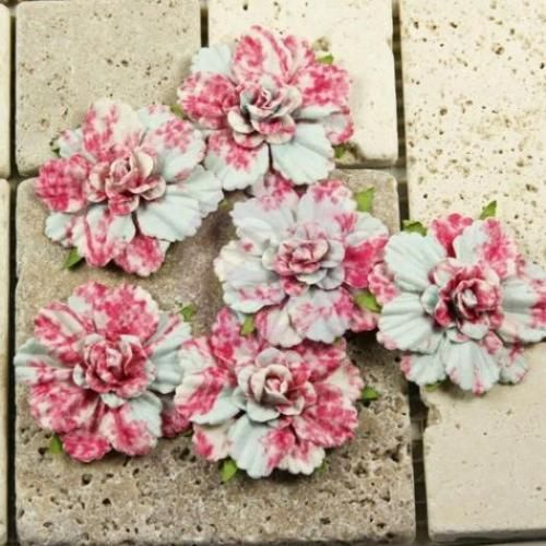 Prima Belle Arte Roselle 2 034 Paper Flowers Scrapbook Cardmaking 539368 | eBay