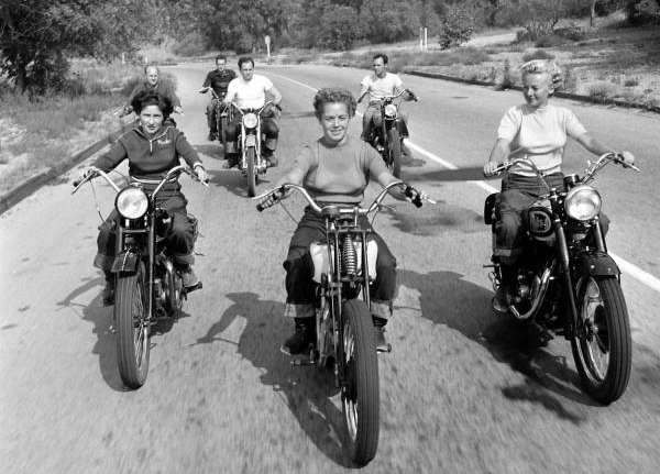 anche nei magnifici 50's c'erano donne no fear!!!