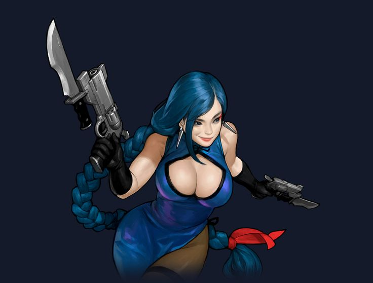 HU_Gorgeous Assassin Blue Rose