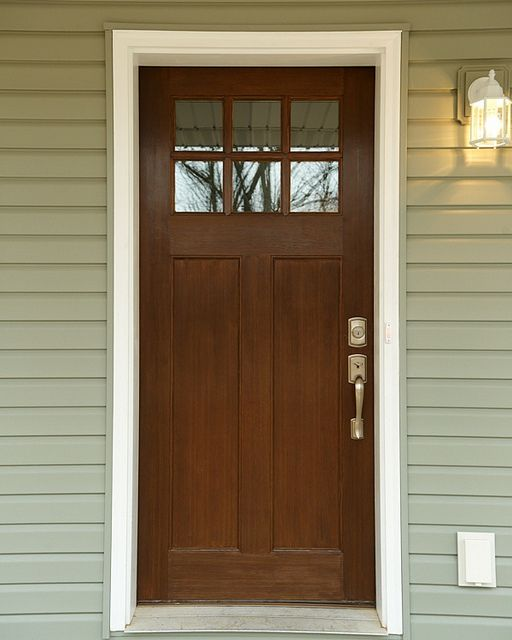 Craftsman Style Front Door Flickr Home Decor