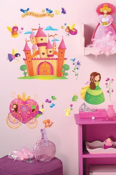 24 best f r kleine prinzessinnen images on pinterest little princess princesses and child room - Wandsticker prinzessin lillifee ...