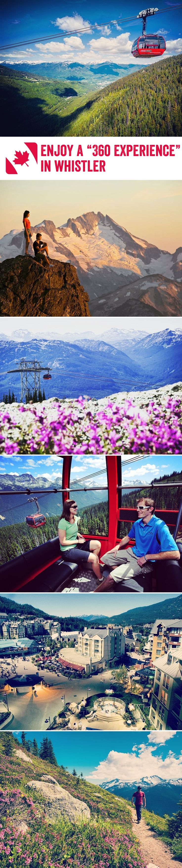 Fancy marvelling at Whistler's wonderful mountains, crystal clear lakes and verdant forests from up high? The PEAK 2 PEAK Gondola is arguably the most spectacular way to do so