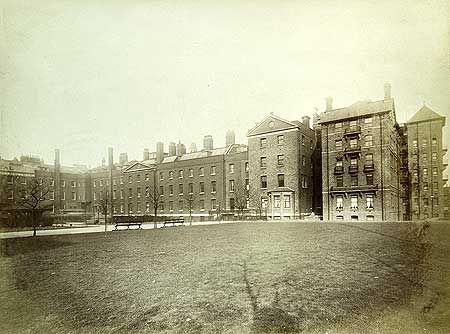 Royal London Hospital,  Whitechapel Road 25 Feb 1887 via English Heritage