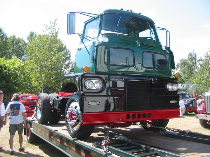 International Sightliner Flush Old Trucks Pinterest