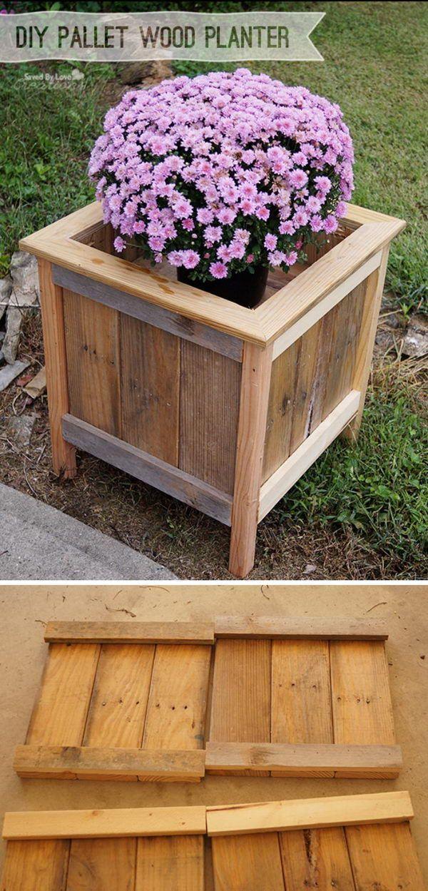 38b8d7ad97391eb96ca60fedae7a3b2b wood pallet planters wood pallets