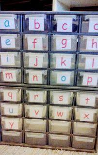 Slow Montessori: Caja de sonidos Montessori DIY / Montessori phonet...