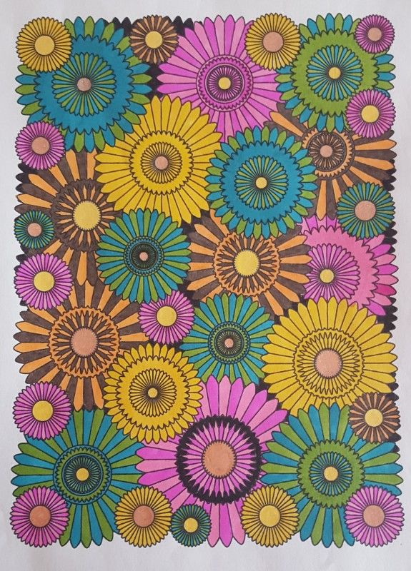 Creation by mimi17, coloring page from the gallery Flowers and vegetation