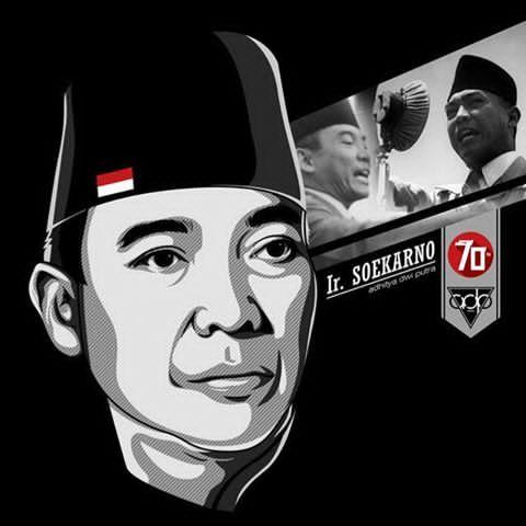 "ADP-MMXV  ""Kemerdekaan Indonesia ke 70th""  #IrSoekarno #Soekarno #Vector #VectorArtwork #VectorArt #Portrait #Kemerdekaan #Indonesia #70th #DirgahayuIndonesia #MerahPutih #Design #Photoshop"