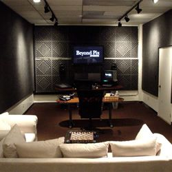 Acoustic Sound Diffusing Panel For Home Theaters And Recording Studios