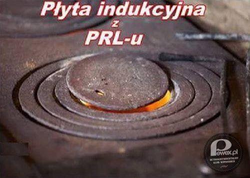 płyta indukcyjna z PRL-u