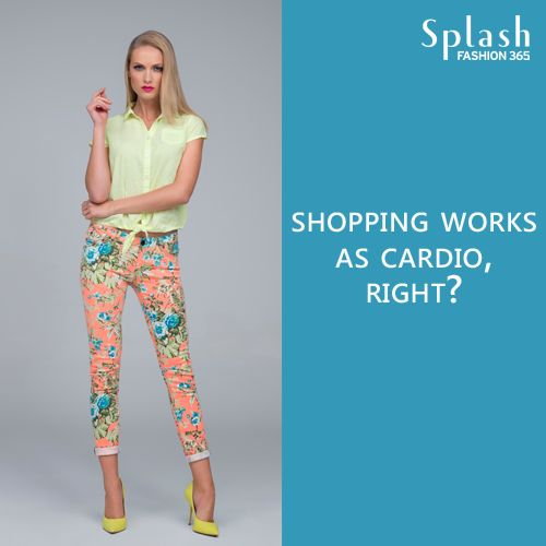 Is #Shopping your cardio too? #Fashion confessions