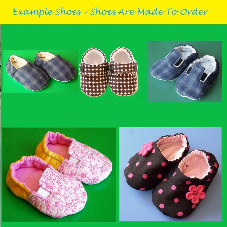 Tiddywinkle Textiles - Custom Baby Shoes - Baby Slippers Product