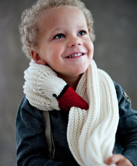 birdy scarf for kids by Ninafuehrer on Etsy, $95.00