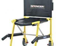 Kombinasyon Sandalye: Spencer Model 420 20G En hafif koltuk da aşırı derecede kullanım basitliği ve kapalı konumda aşırı derecede kompakt olmasıyla karakterizedir. Bu özellik ambulansta depolama bakımından olağanüstü uyum kabiliyeti sağlamaktadır.  Spencer 420 koltuk iki adet polipropilen 50 mm kayış ile birlikte temin edilir.