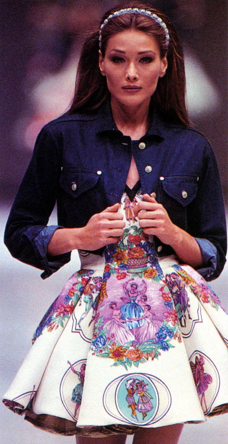 Gianni Versace Pret-a-porter / Spring 1992 // INSPIRATION // TUCSON FASHION WEEK #TUCSONFW