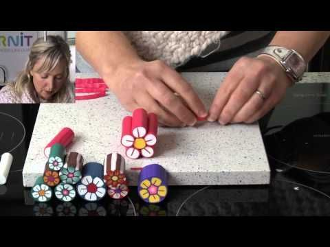 Getting Started With Polymer Clay Canes For Jewelry Making
