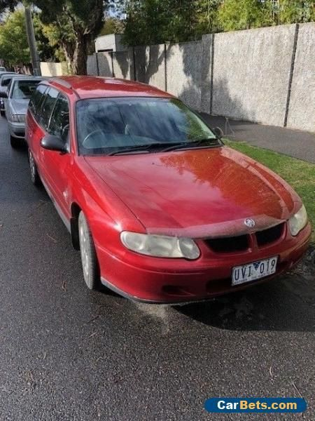 2001 Holden Commodore VX Acclaim station wagon #holden #commodore