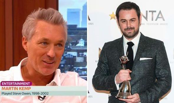 'It's the best job' Martin Kemp admits Danny Dyer has 'brought EastEnders back to life'