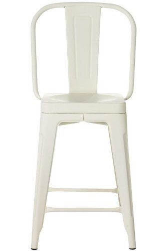awesome Garden Counter Stool, COUNTER HEIGHT, IVORY