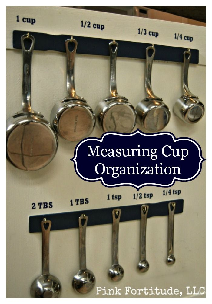 Measuring Cup and Spoon Organization by coconutheadsurvivalguide.com