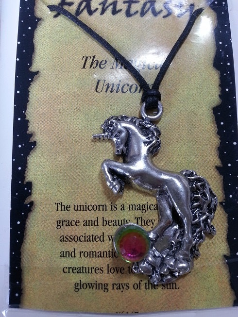 The Magical Unicorn Pendant Necklace on by WithLoveDivine on Etsy, $15.00 fantasy magical jewellery jewelry medieval men women unisex teen pewter crystal rainbow fashion style vancouver https://www.etsy.com/listing/152656091/the-magical-unicorn-pendant-necklace-on