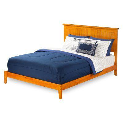 Atlantic Furniture Nantucket Traditional Platform Bed, Size: Twin XL - AR8211037, Durable