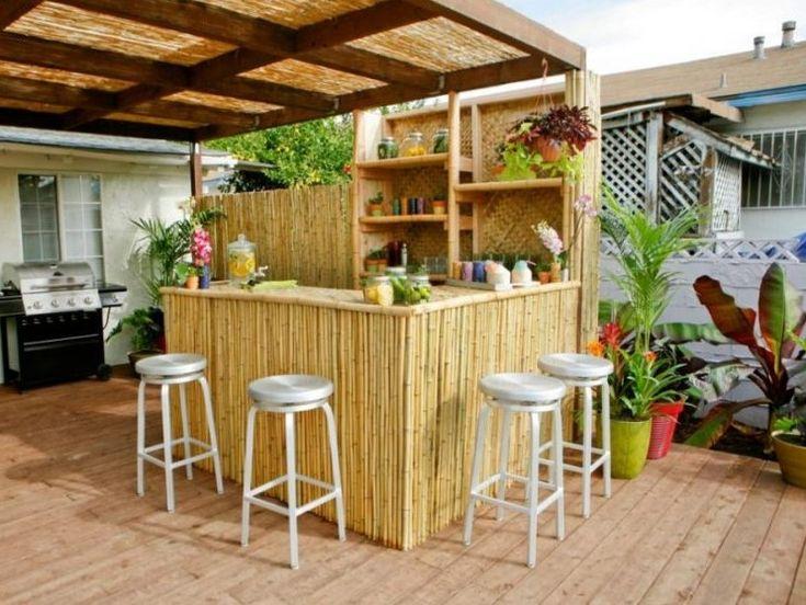 77 Best Outdoor Bar Ideas Images On Pinterest  Backyard Ideas Enchanting Outdoor Kitchen Bar Designs Inspiration