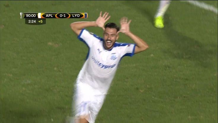 Apollon Limassol 1-1 Lyon: Lyon denied in final minute