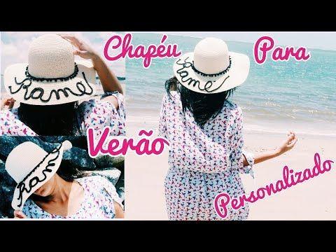 Chapéu De Palha Customizado Ideias Do Instagram Customizando Net 12c09cc7fdb