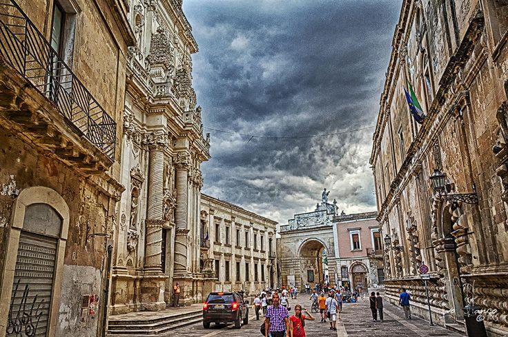 Going to rain Lecce