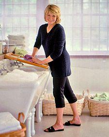Martha Stewart stain removing basics.