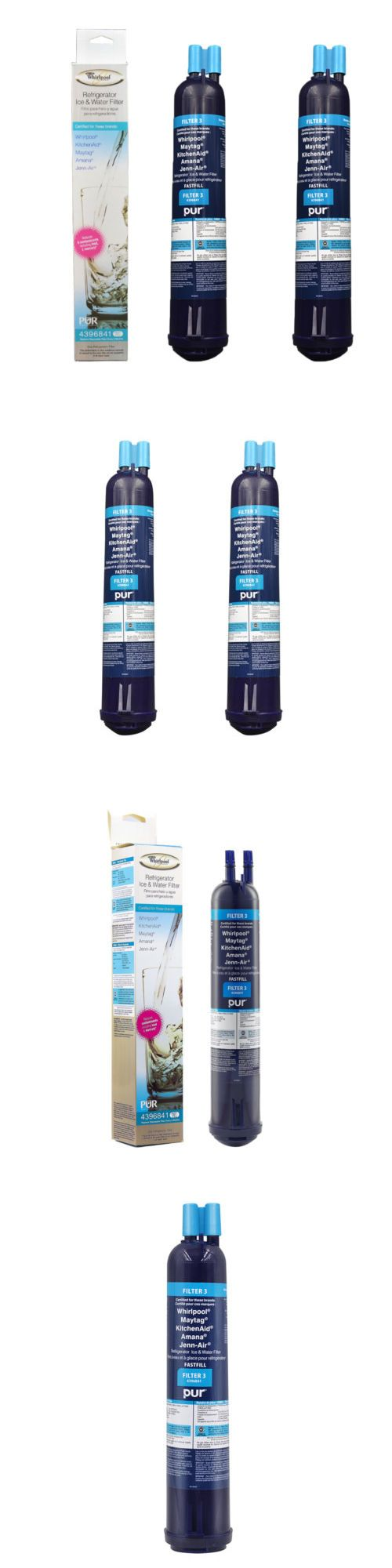 Water Filters 20684: 2Pack Whirlpool 4396841 Pur Push Button Side-By-Side Refrigerator Water Filter -> BUY IT NOW ONLY: $35.95 on eBay!