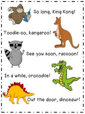 Herding Kats in Kindergarten: We Haven't Said Hello And I'm Already Saying Good-bye! (Freebie!)