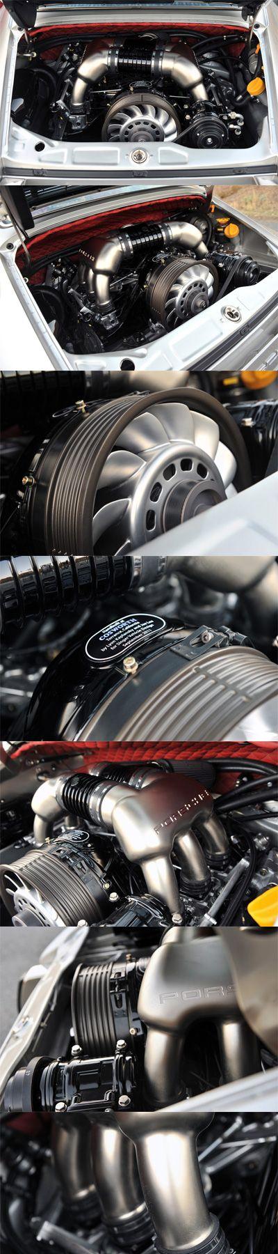 Singer Porsche engine. Yes, it's Air Cooled