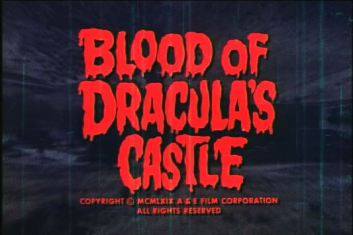 Blood Of Draculas Castle Movie Trailersvintage
