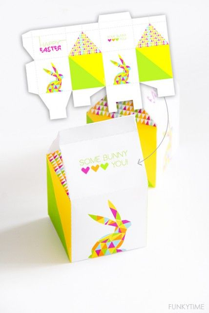 Free Printable Easter Treat Box