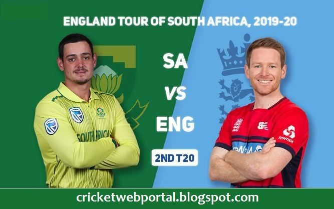 South Africa Vs England 2nd T20i Live Cricket Streaming Cricket Streaming Live Cricket