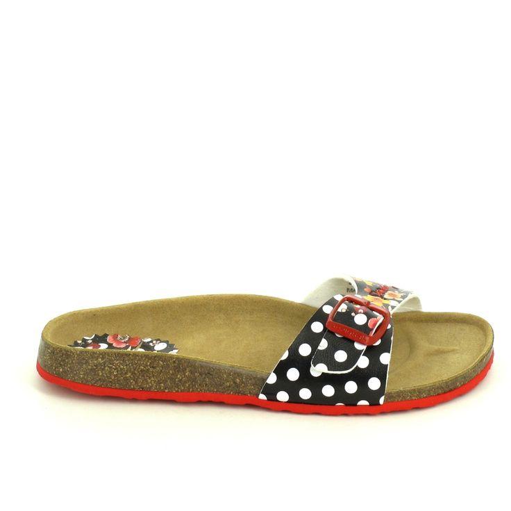 Shoes_bio 2 - Coins Pour Femmes / Desigual Noir APPtcTzuS