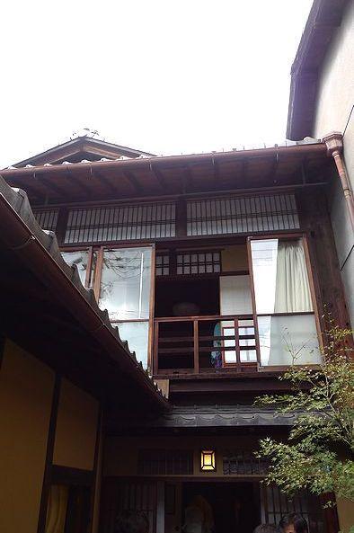 Japanese traditional inn, Kyoto