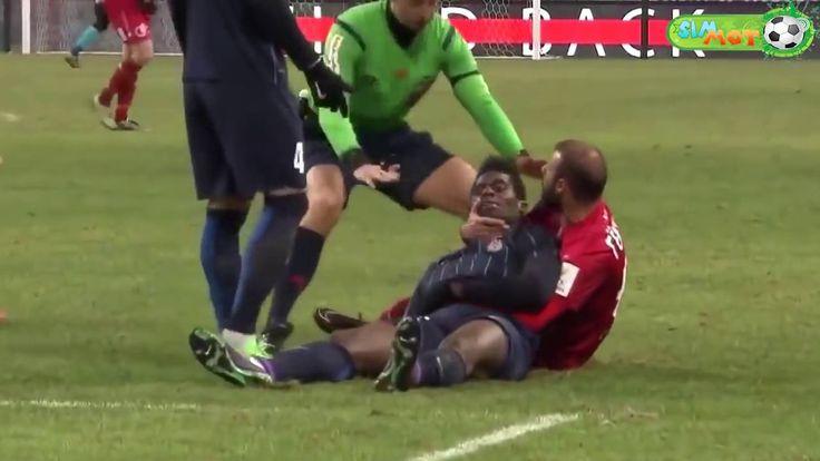 Video LUCU Sepakbola 2017#3 - Funny FOOTBALL Video skill fails - momen l...