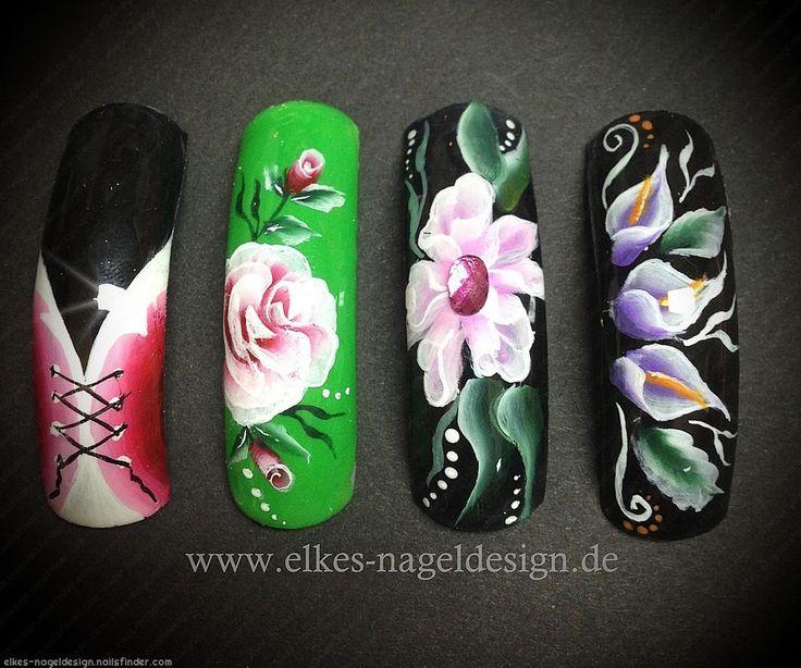 Mejores 1067 imágenes de Nails en Pinterest | Diseños artísticos en ...