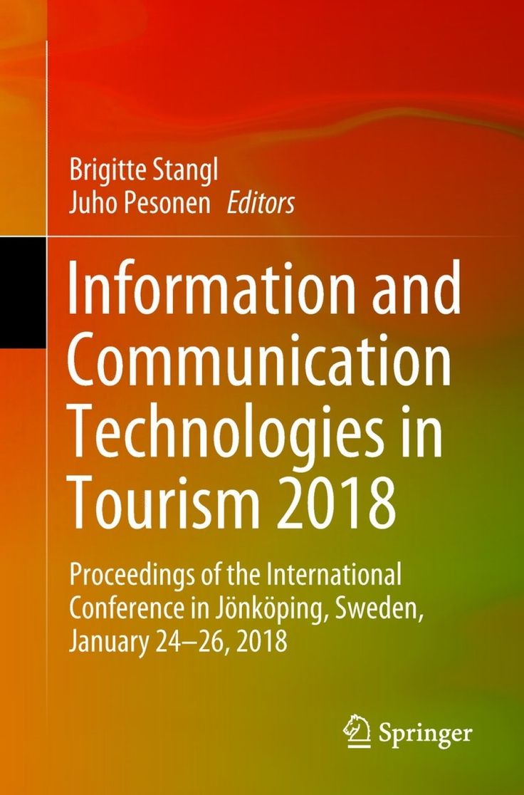 Information and Communication Technologies in Tourism 2018 (eBook)