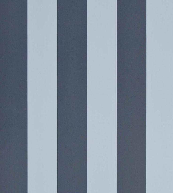 Spalding Stripe Wallpaper by Ralph Lauren | Jane Clayton