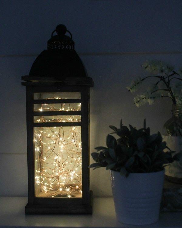 28++ Diy fairy light lanterns ideas