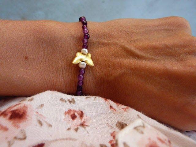 handmade with love _ agate bracelet