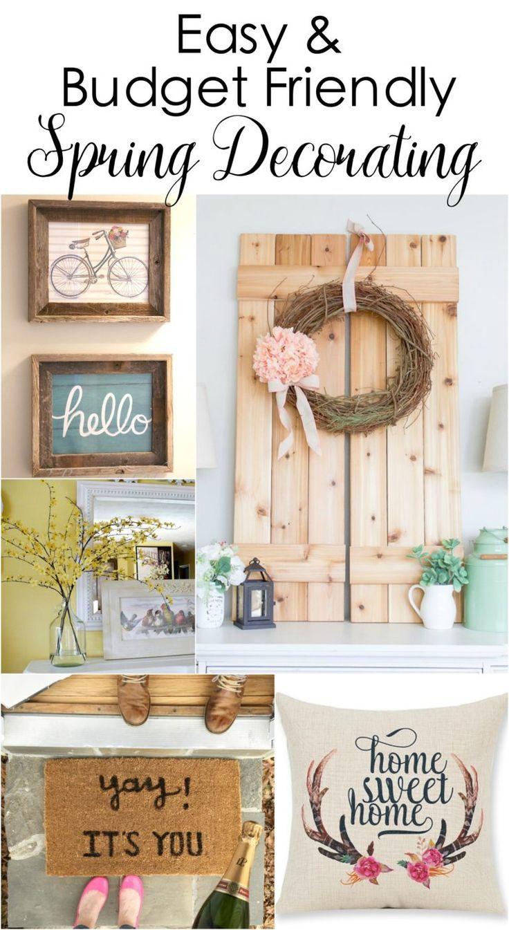 Spring Decorating 136 Best Spring Decorating Ideas Images On Pinterest Easter