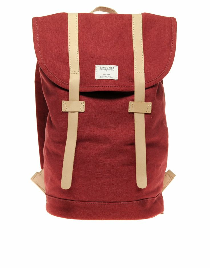 Sandqvist Canvas Backpack