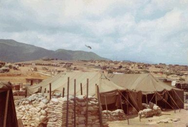 Several photos of LZ Baldy taken in late 1968, Vietnam. v ...