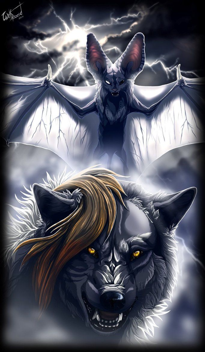 Night storm by WolfRoad on deviantART Wolf Pinterest
